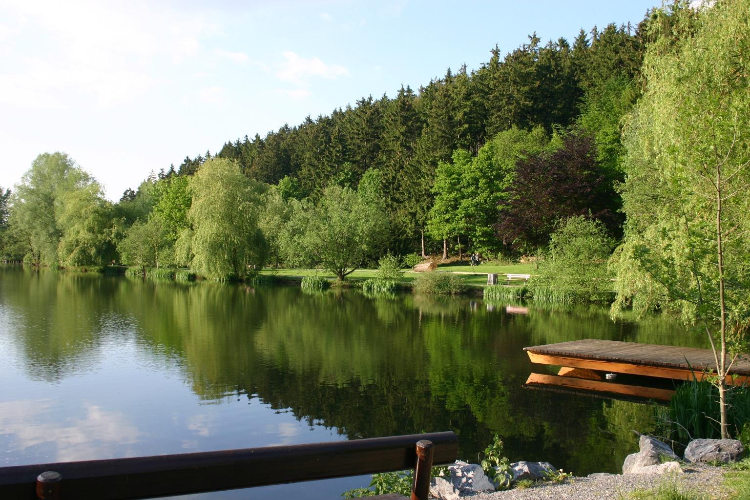 Paddelteich Bad Wünnneberg