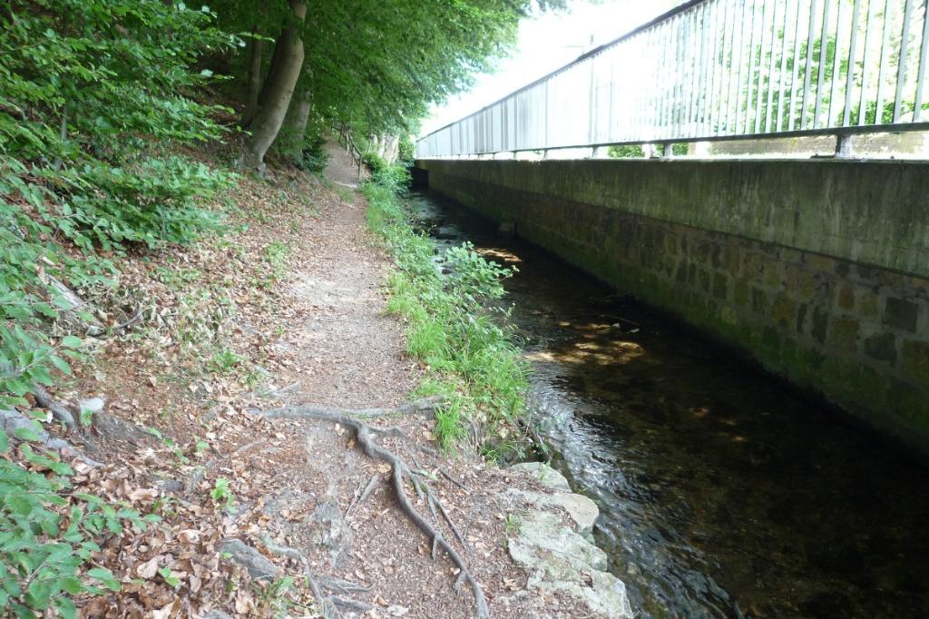 Beginn des Weges in Berlebeck
