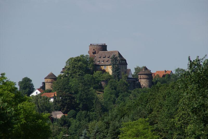 Blick auf die Trendelburg
