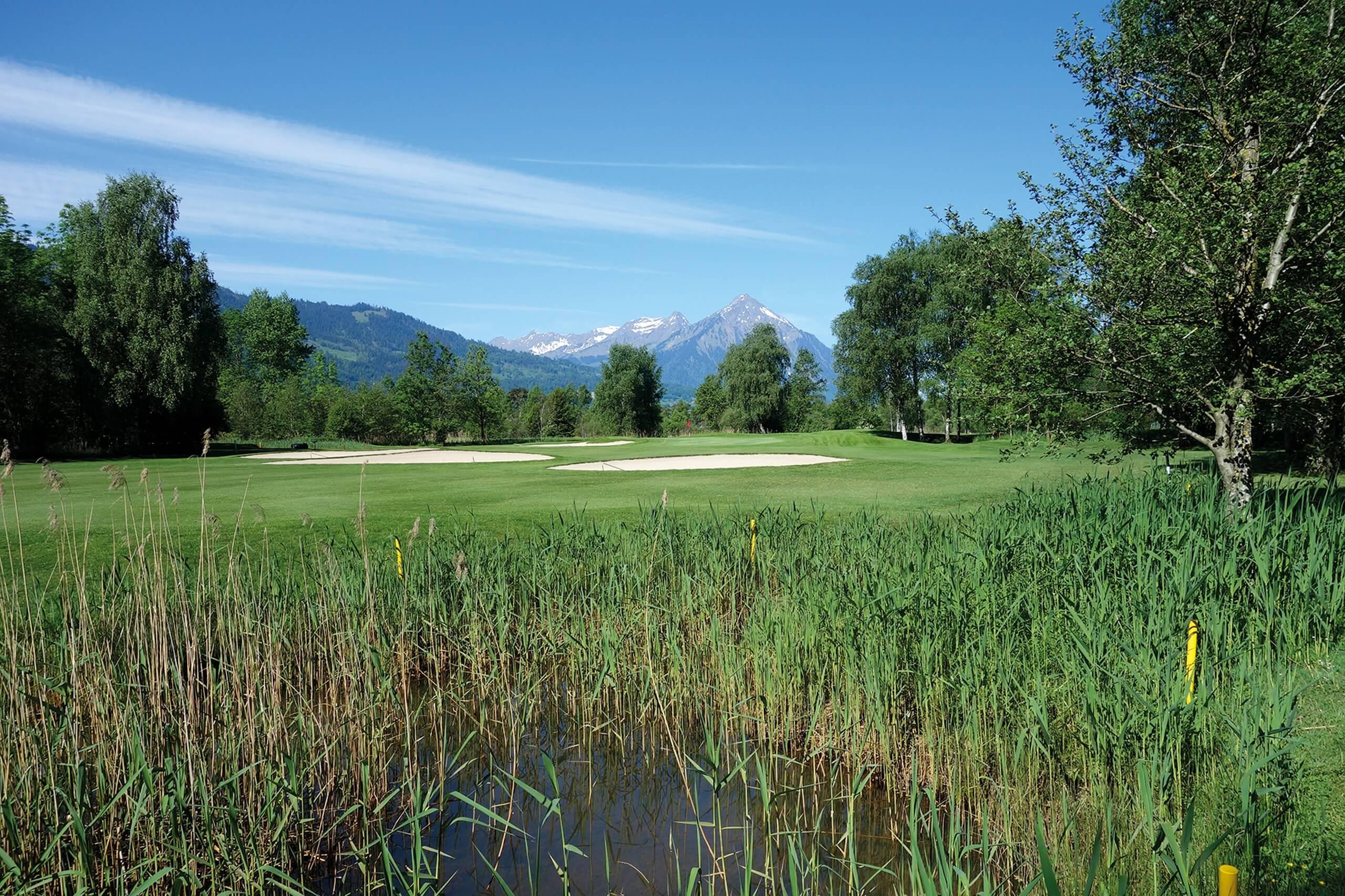unterseen-golfplatz-gruene-wiese-sommer-golf-spielen