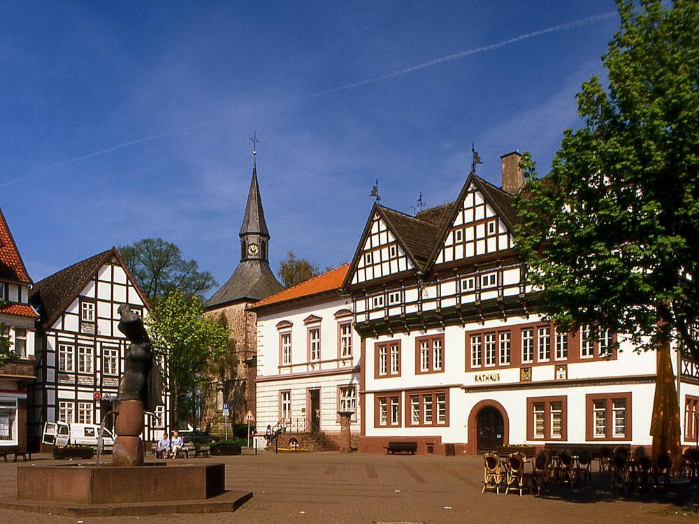 Marktplatz in Blomberg