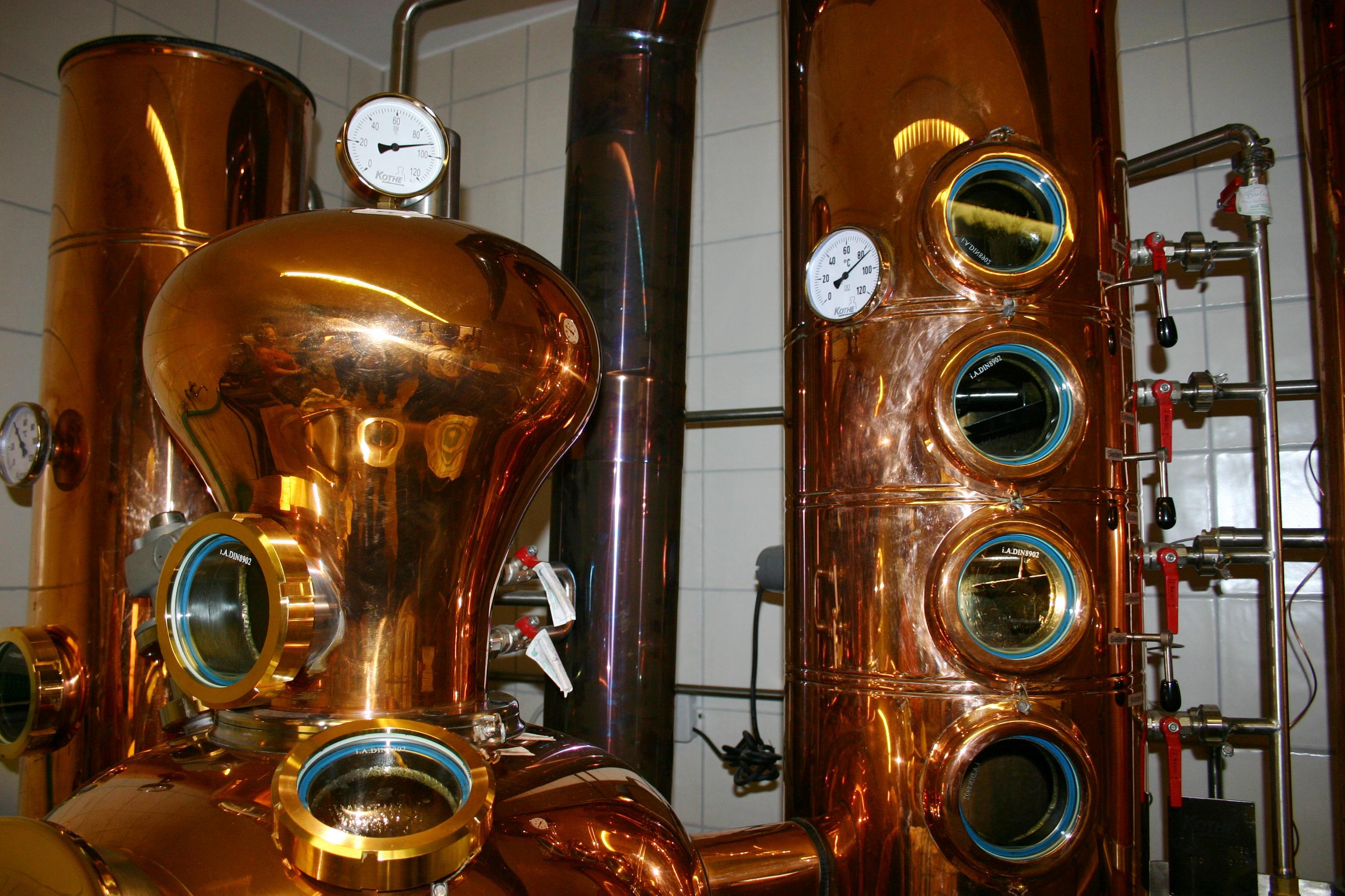 Destille Speichergebäude