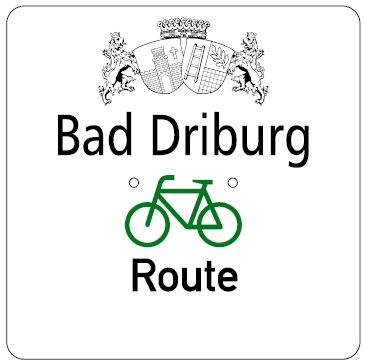 Bad Driburger Radroute, Wegweisung Tour 3