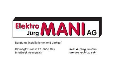 Elektro Jürg Mani AG