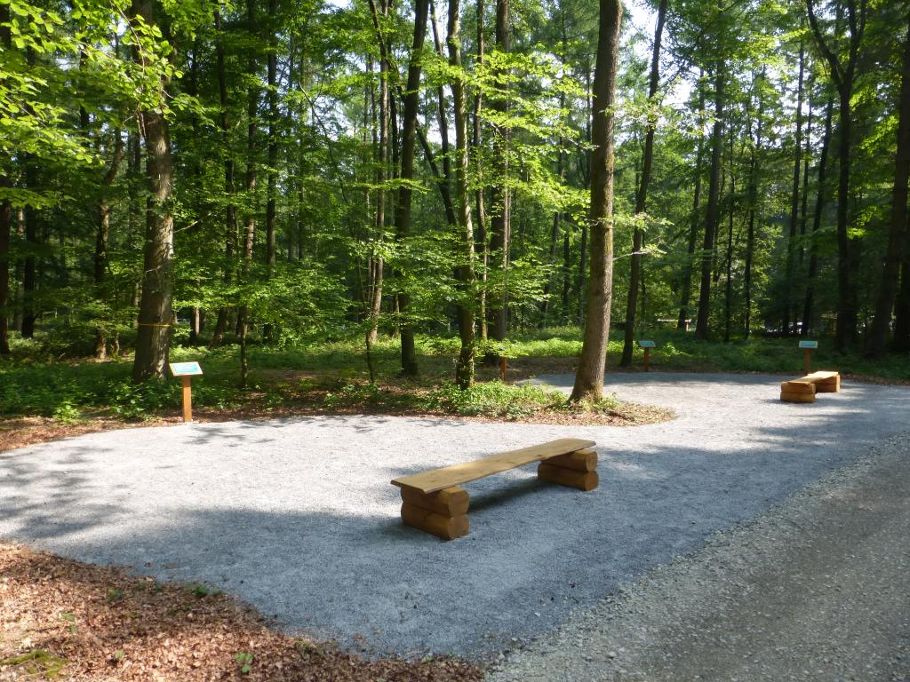Informationstafeln zum Friedwald