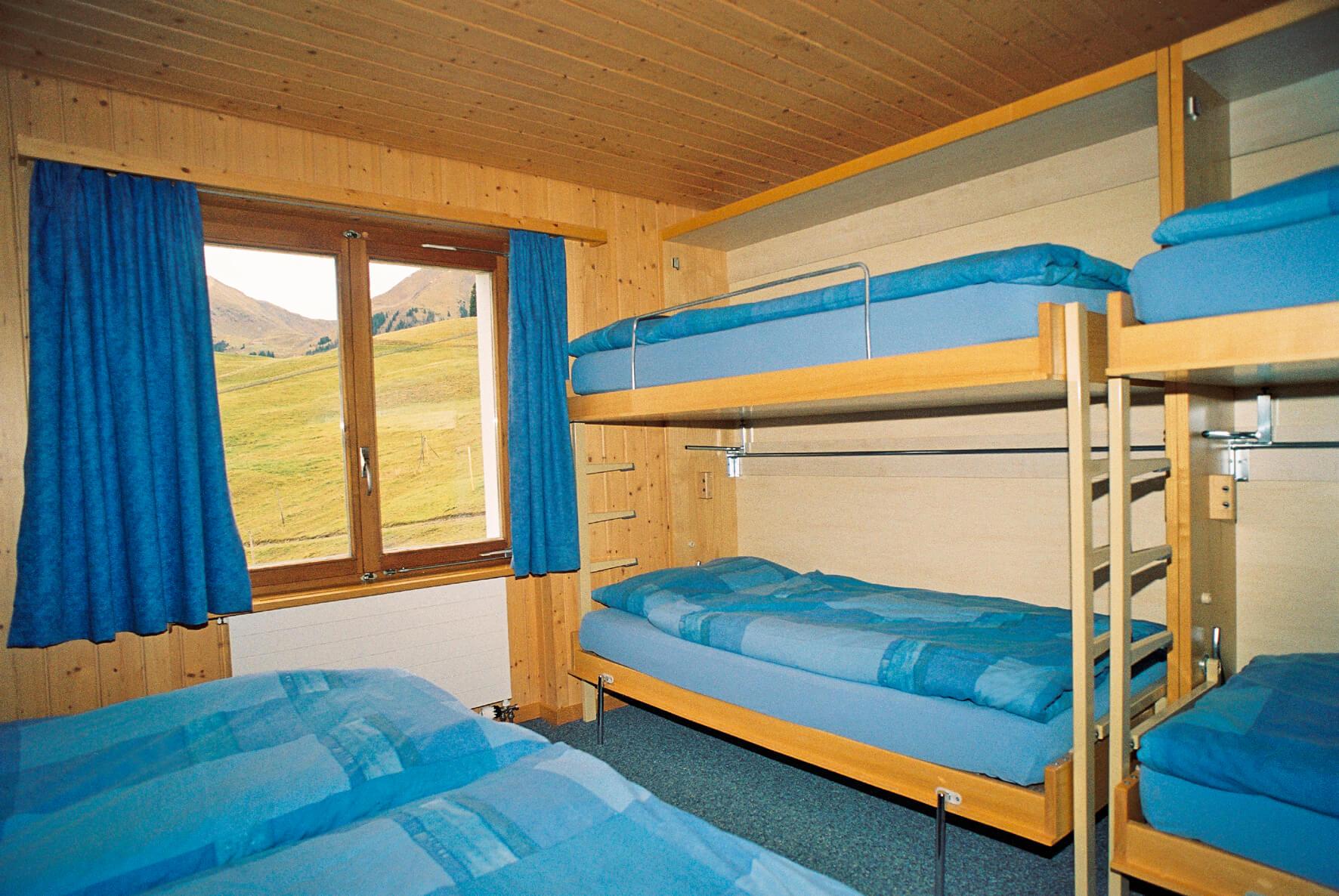 Kajütenbett Berghotel Wiriehorn