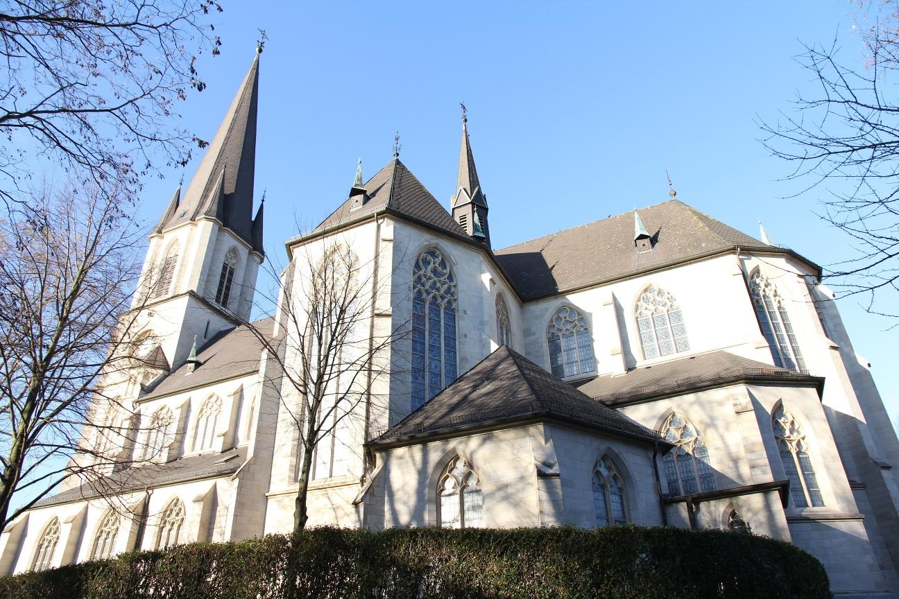 St. Ida Wallfahrtsbasilika in Herzfeld