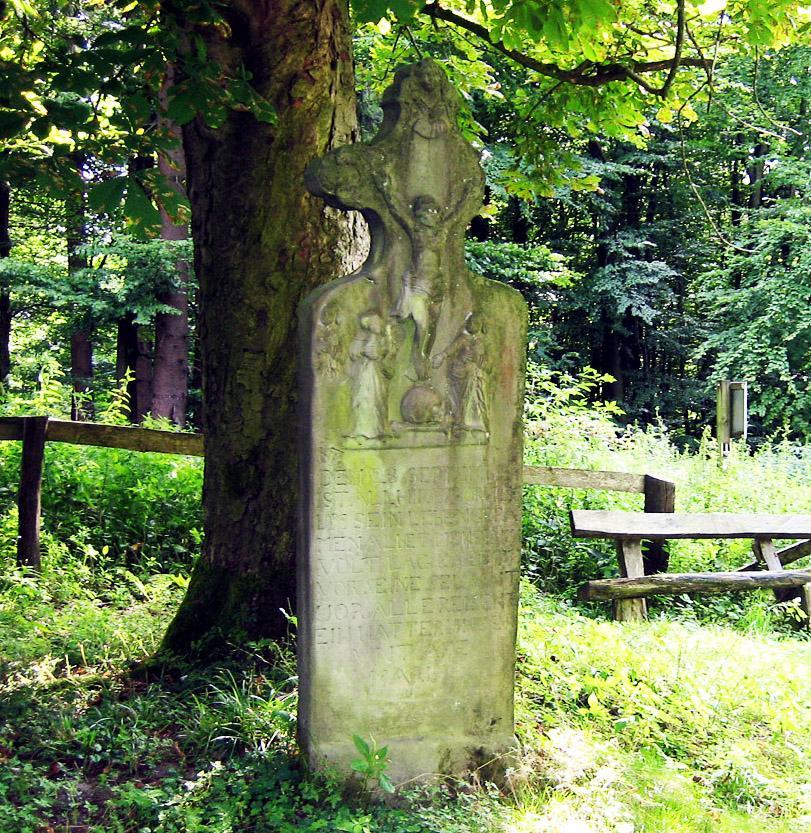 Denkmal `Messerkerl` Lippspringer Wald