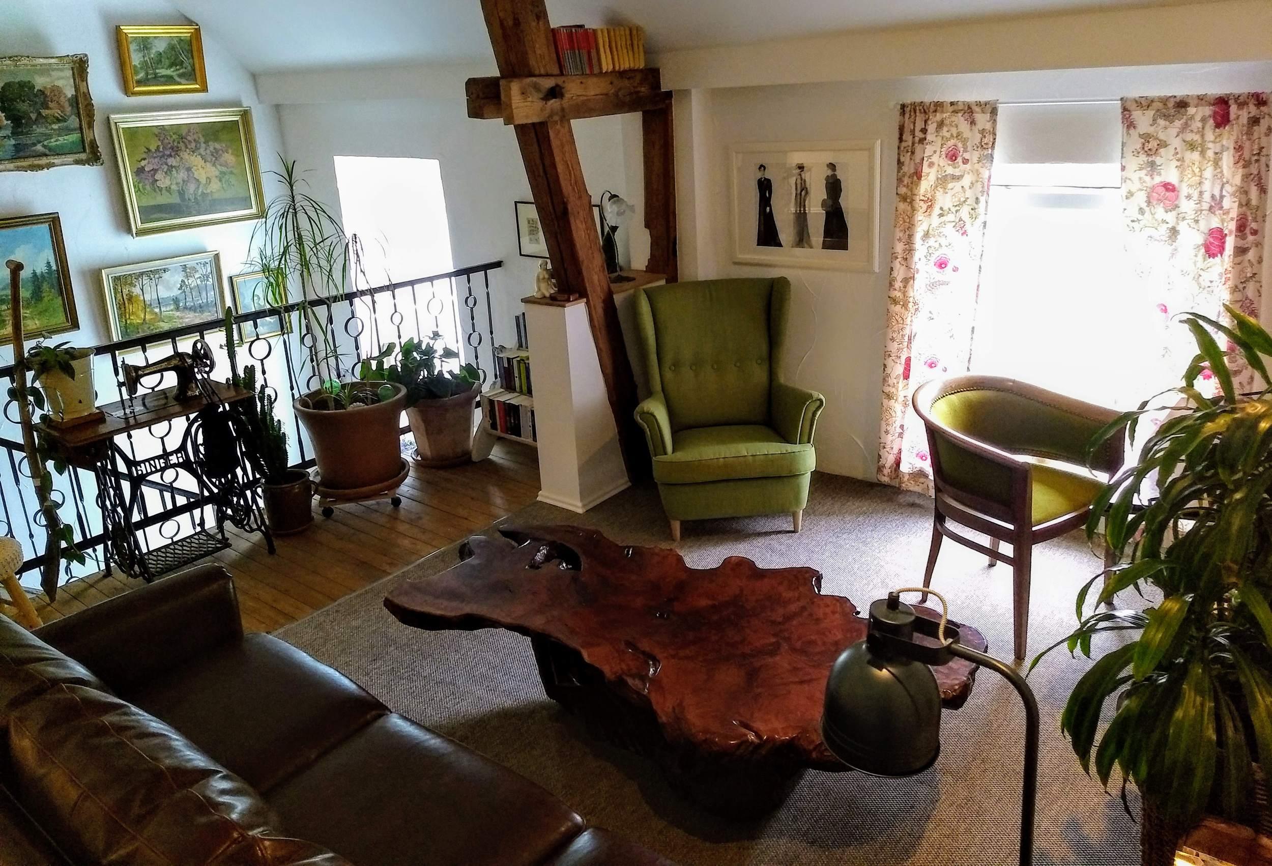 """Hotelpension """"Das Gartenhaus"""" in Neudorf - Lounge"""