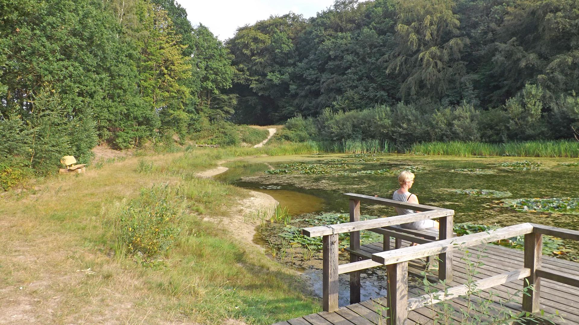 Der Oereler See - eine Oase der Ruhe