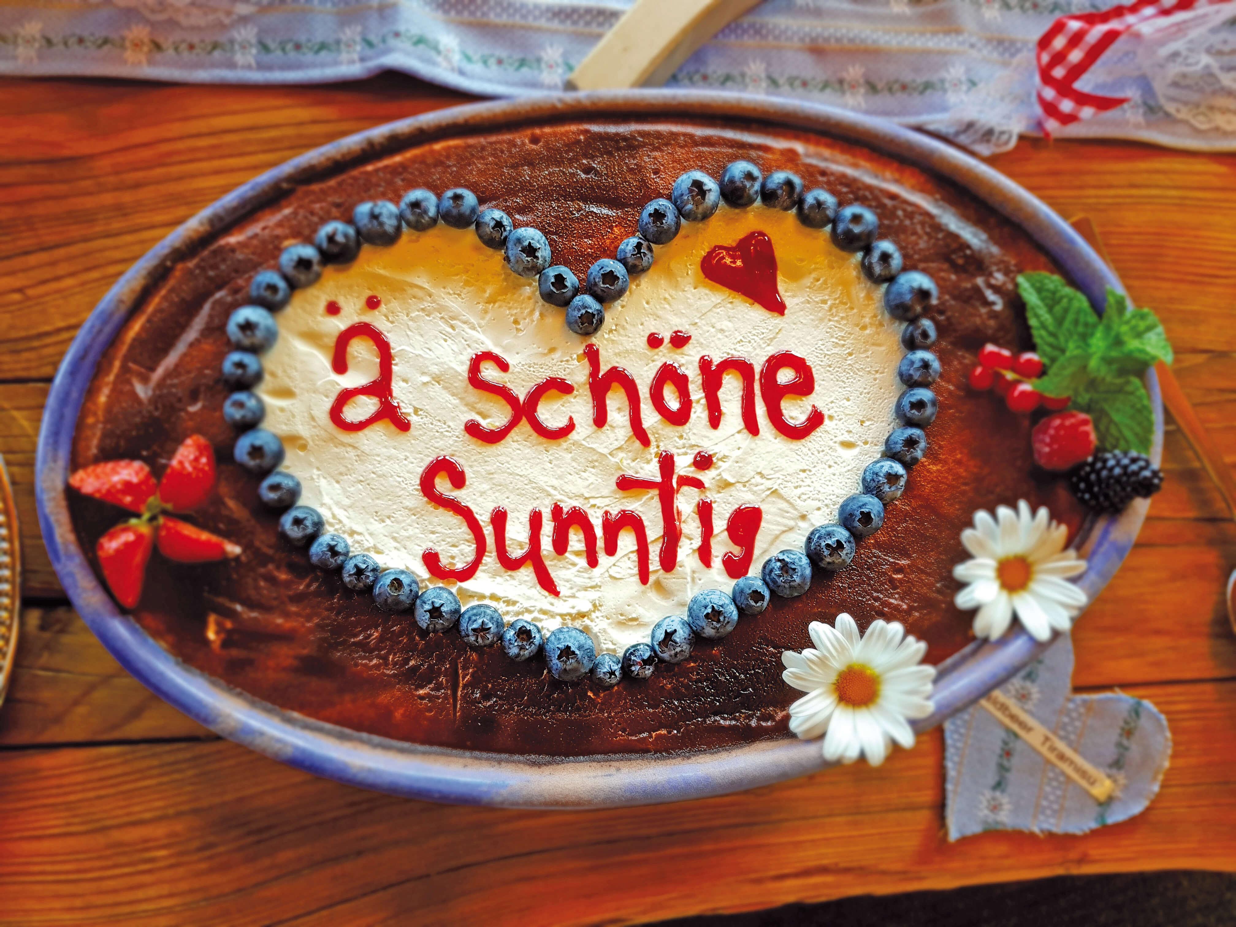 Berghotel Wiriehorn Brunch Sonntagsdessert