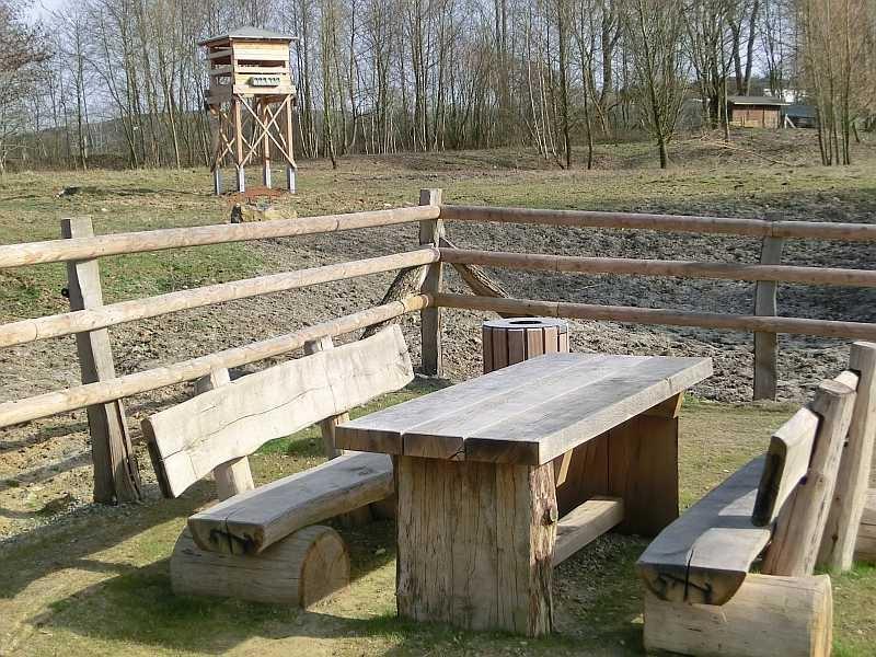 Picknickplatz an den Nieheimer Tongruben