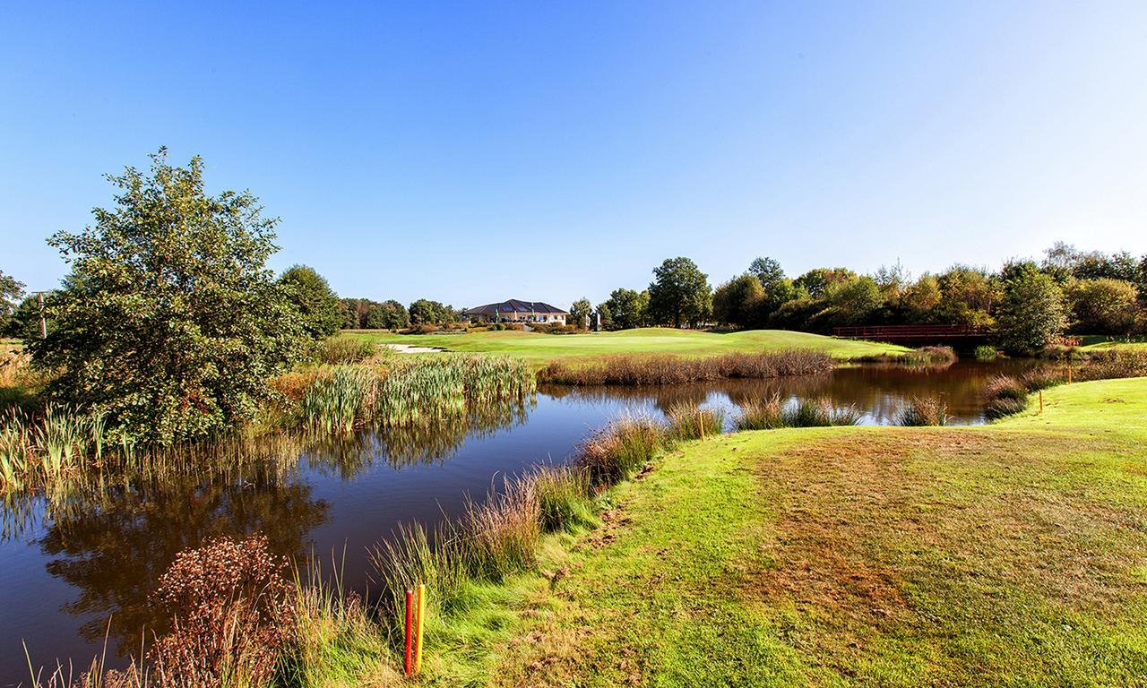 Clubhaus der Golfsportanlage Bokensdorf Golfclub Wolfsburg