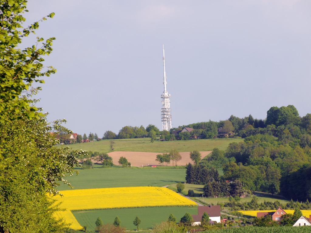 Blick auf den Eggeberg