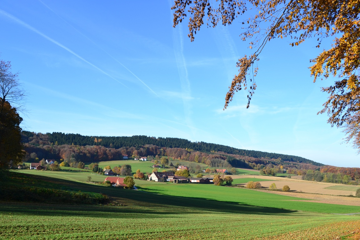 Blick auf den Ortsteil Isingdorf