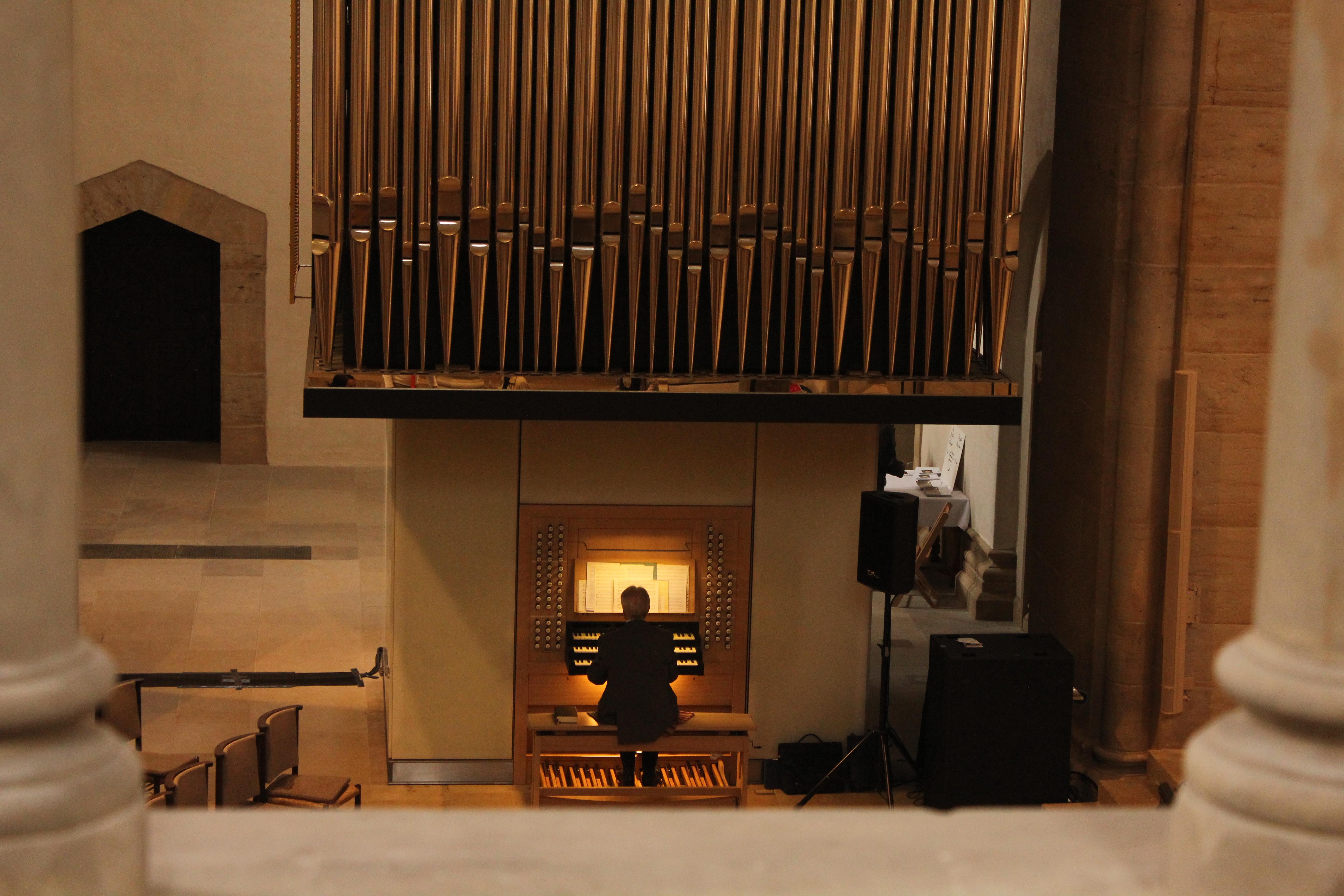 Orgelspieler Klosterkirche