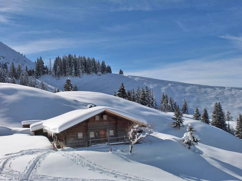 Aussenansicht Winter Schnee