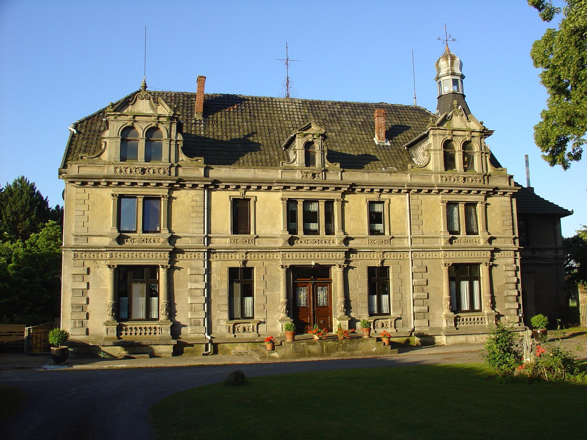 Schloss Südhemmern im Mühlenkreis
