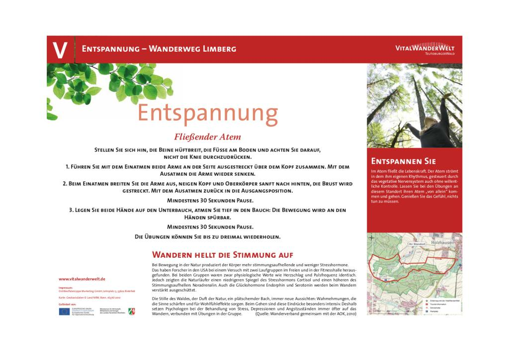 VitalWanderWelt Wanderweg Limberg - Fließender Atem