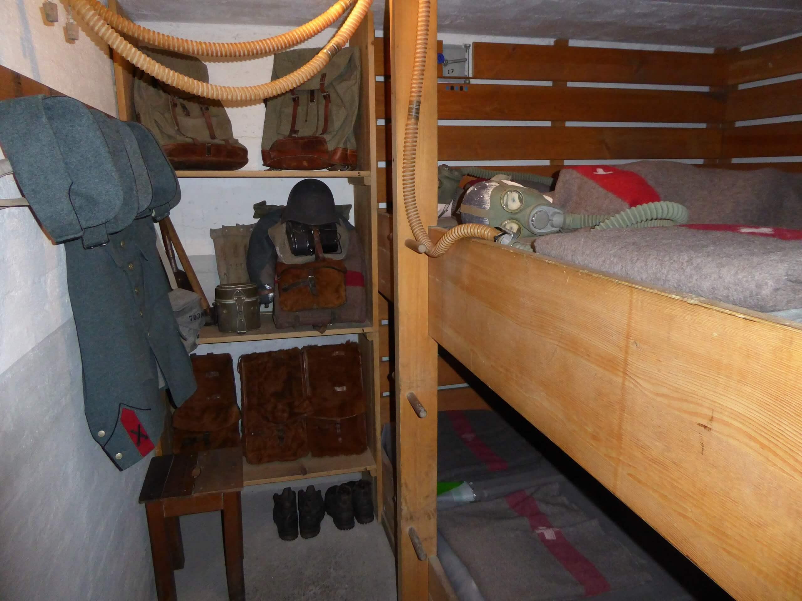faulensee-artilleriewerk-schlafkabine