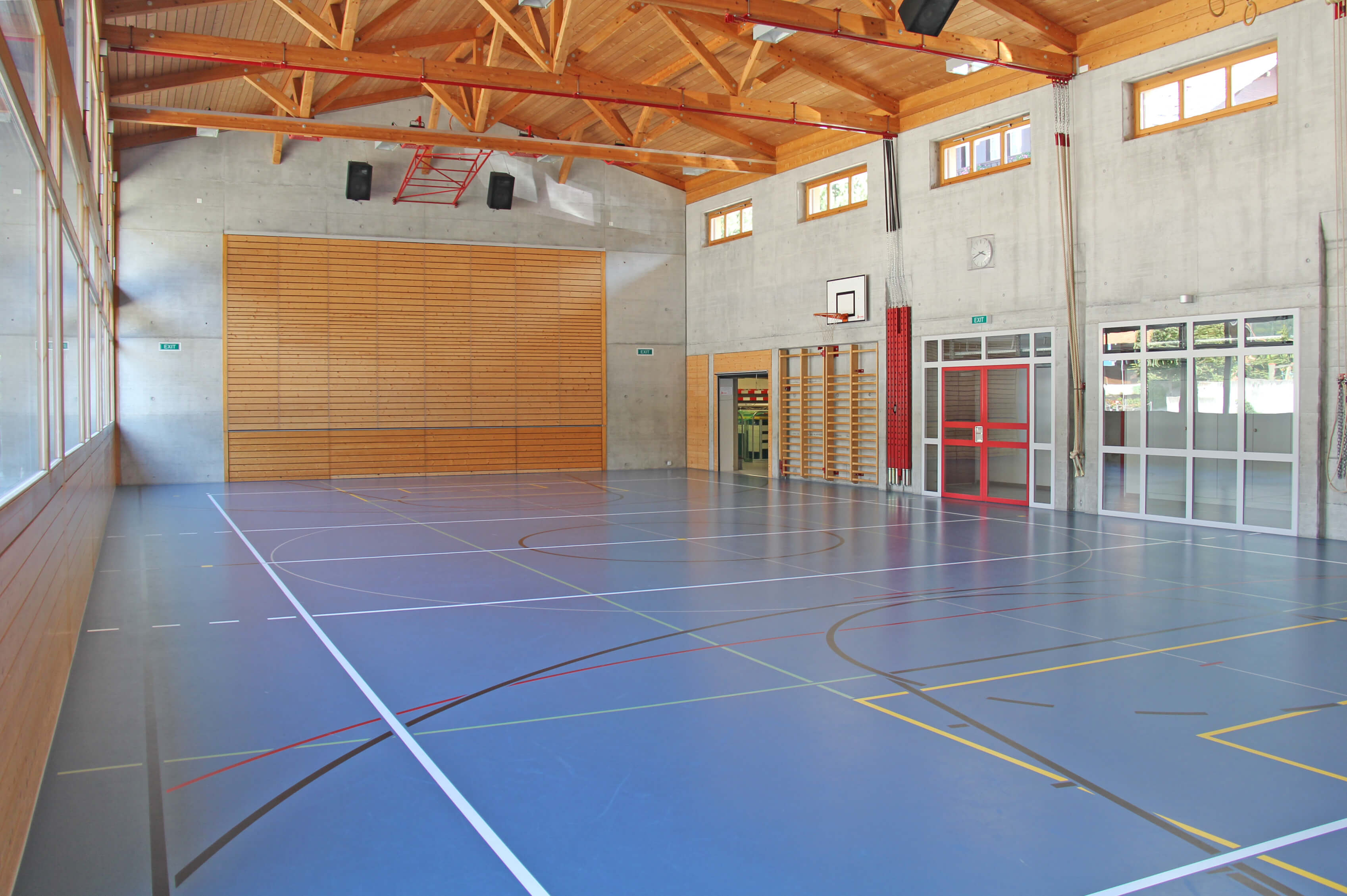 Viel Platz für sportliche Aktivitäten