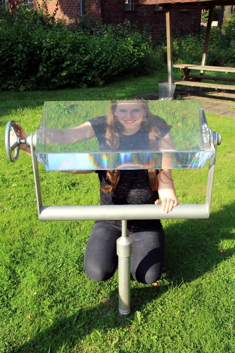 Wasserprisma am Weg der Sinne