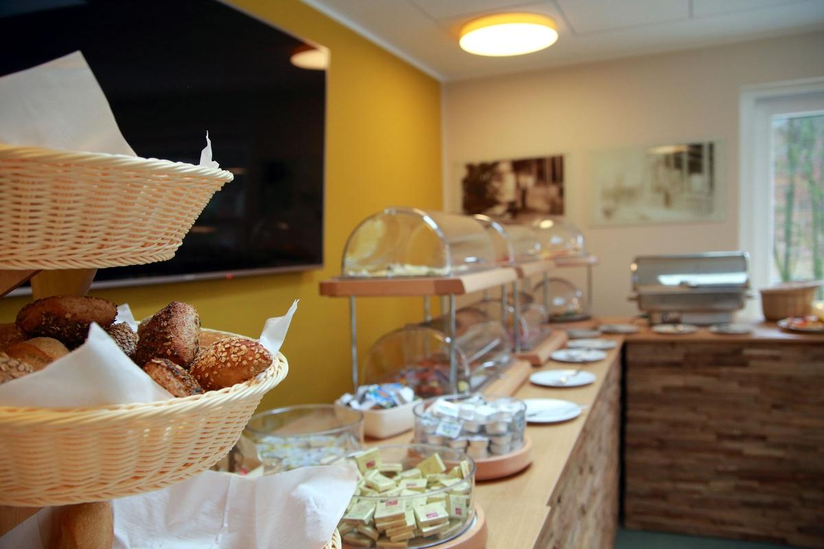 Frühstücksbuffet im Hotel Grünwalde, Halle Westfalen