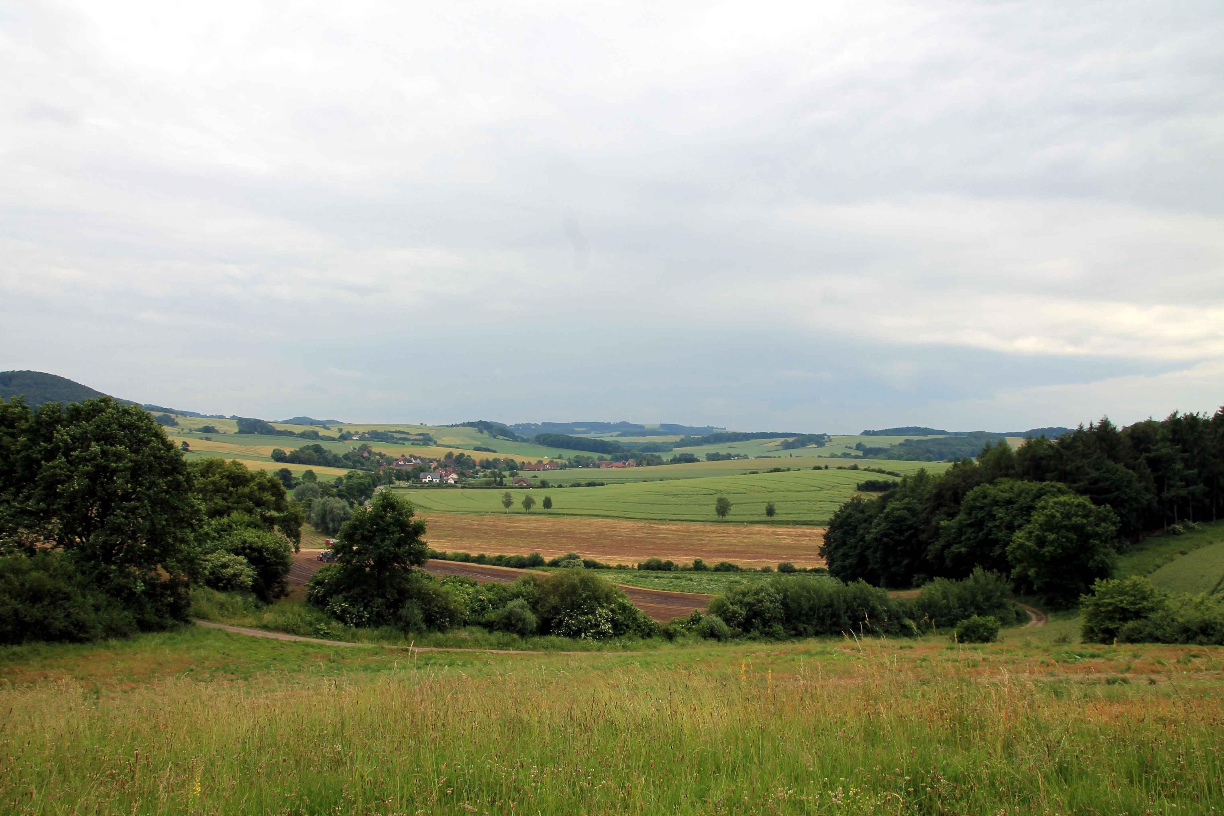 Landschaft bei Heidelbeck