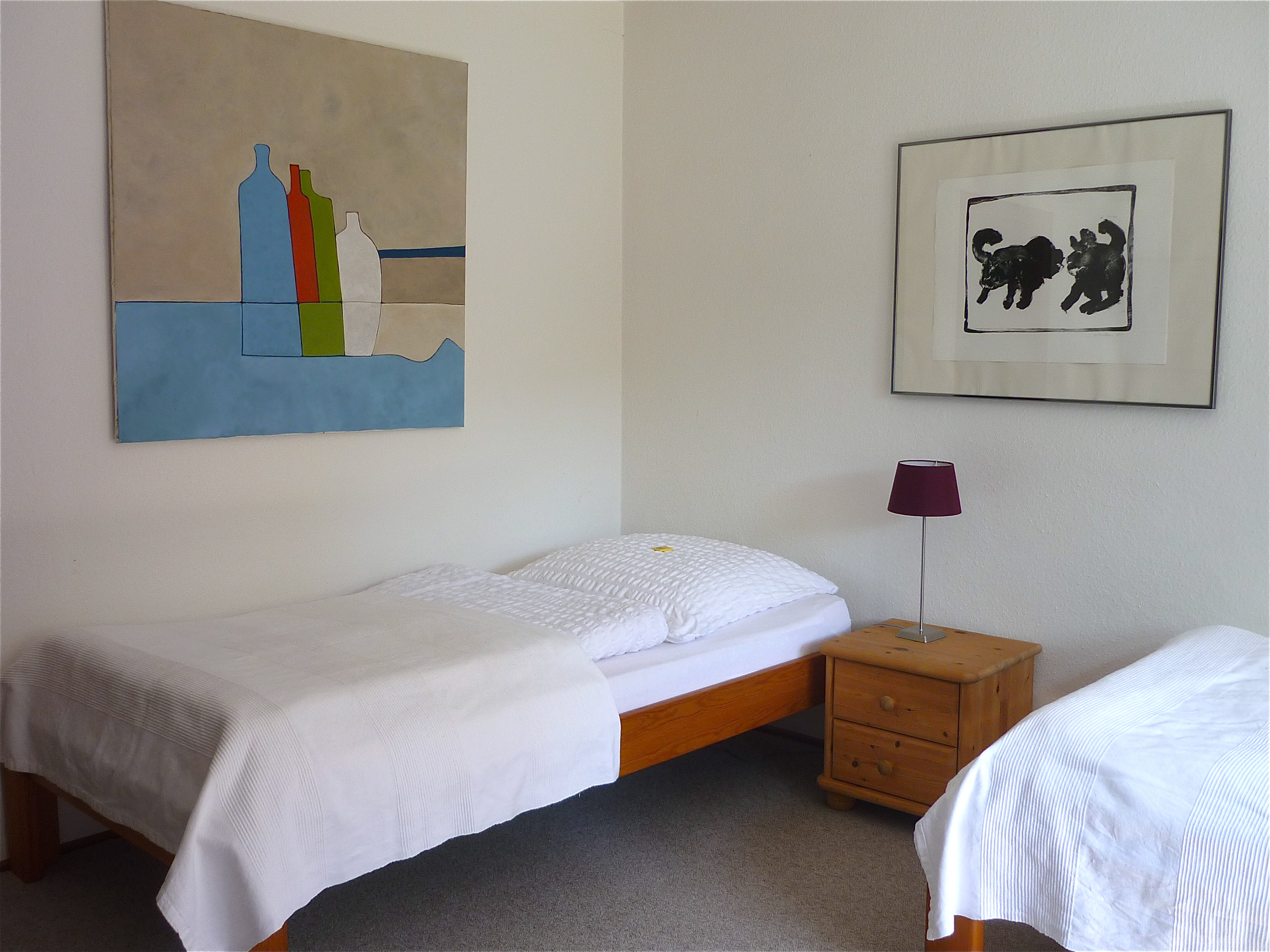 Klosterhof Brunshausen - Zweibettzimmer im Gästehaus