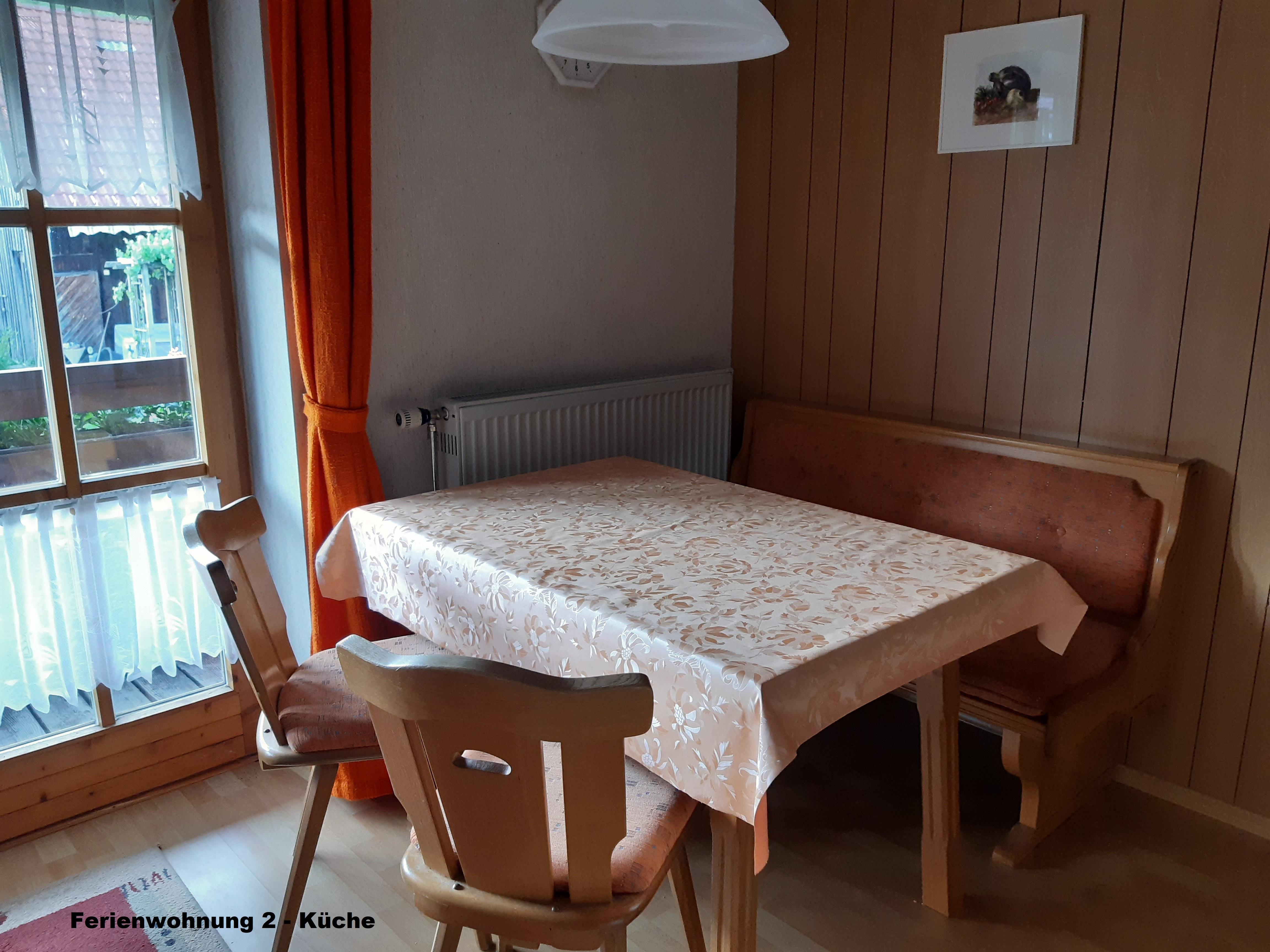 Gästehaus Fink, Ferienwohnung 2, Küche