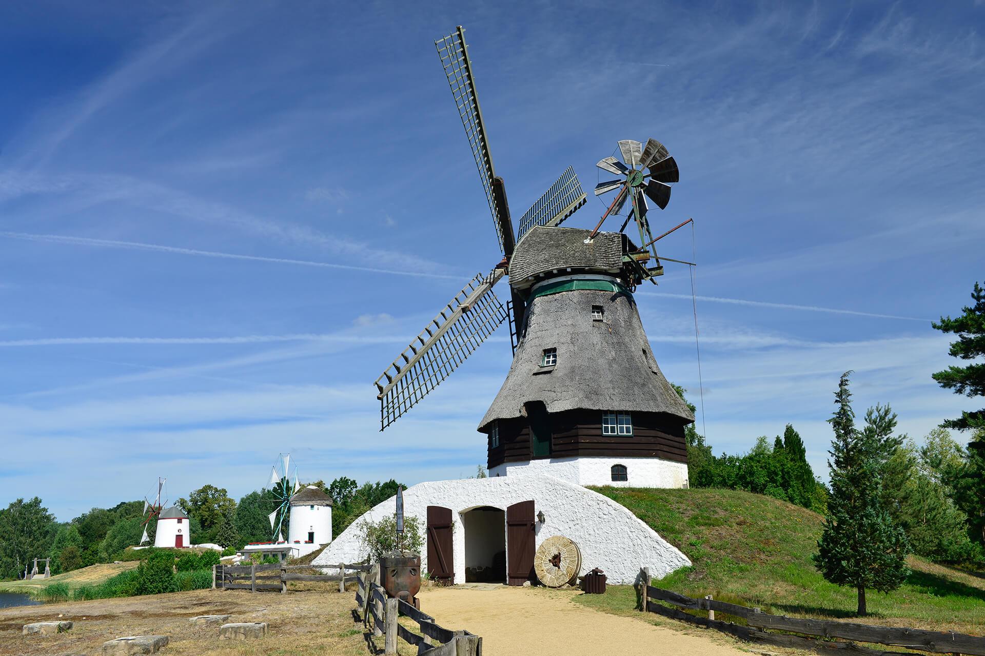 Kellerholländer Mühle im Mühlenmuseum Gifhorn