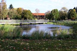 Salinenpark Rheine mit Kloster Bentlage
