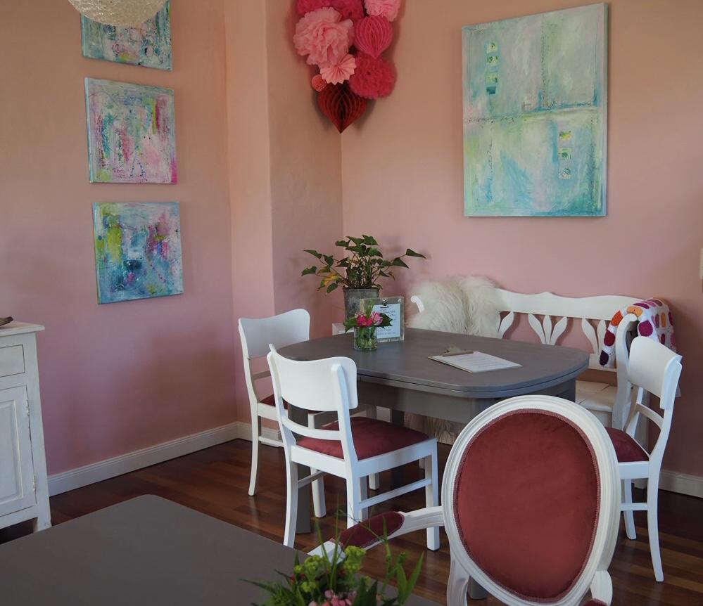 Innenansicht Cafe
