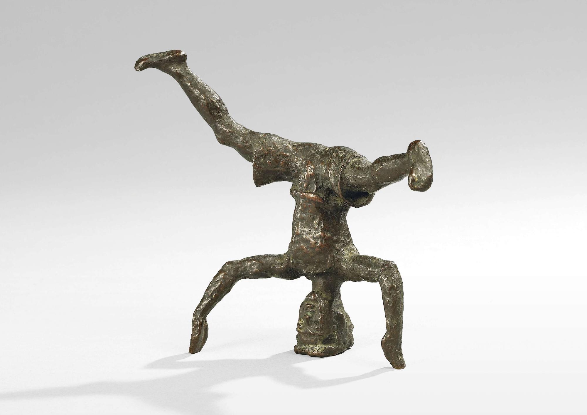Renée Sintenis: Kopfstehender Junge 1920 Bronze Sammlung Karl H. Knauf, Berlin©VG Bild-Kunst, Bonn 2020 Foto: Bernd Sinterhauf