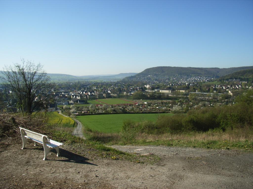 Blick in das Wesertal