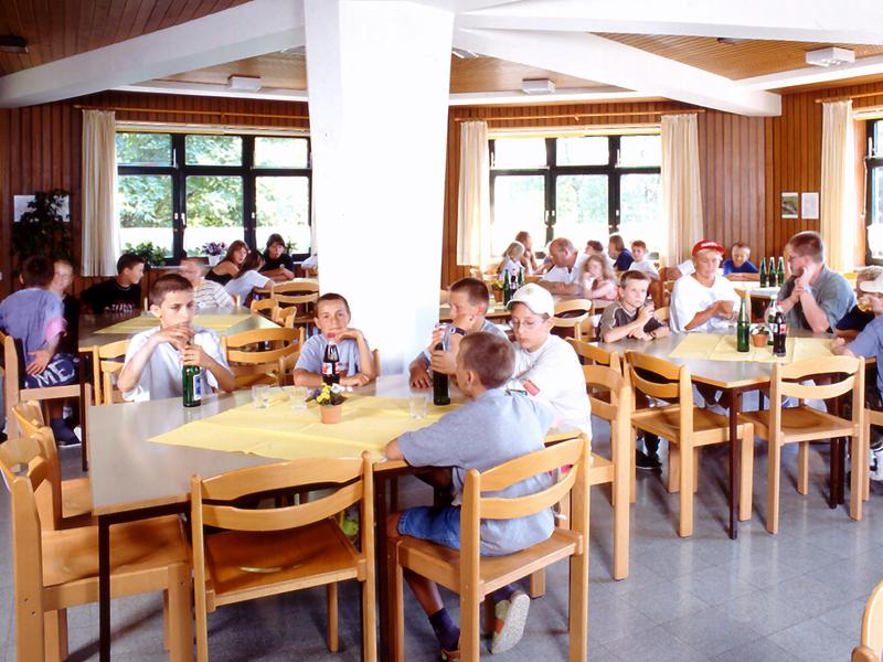 Jugendherberge Torfhaus - Speisesaal