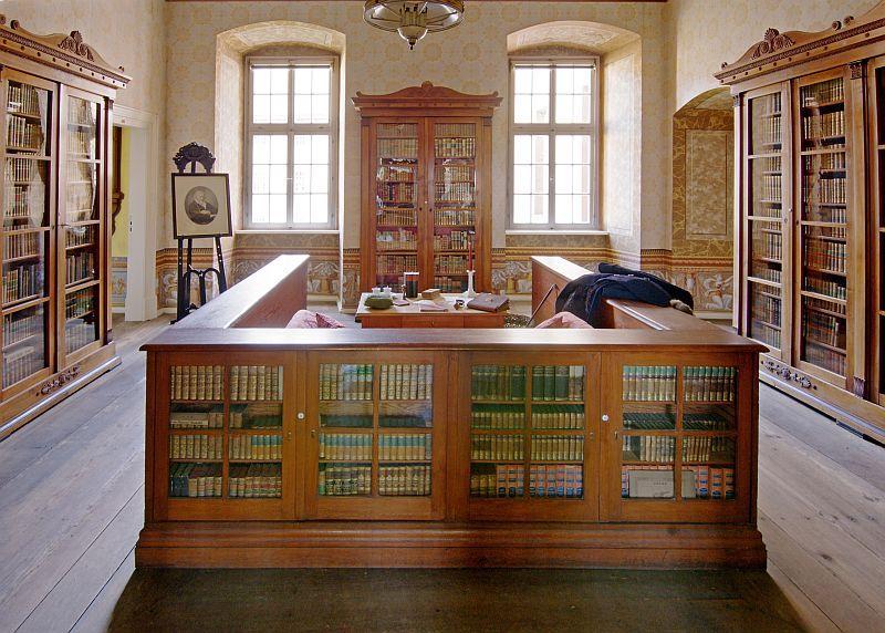 Fürstliche Bibliothek Schloss Corvey - Hoffmann von Fallersleben & 74.000 Bücher