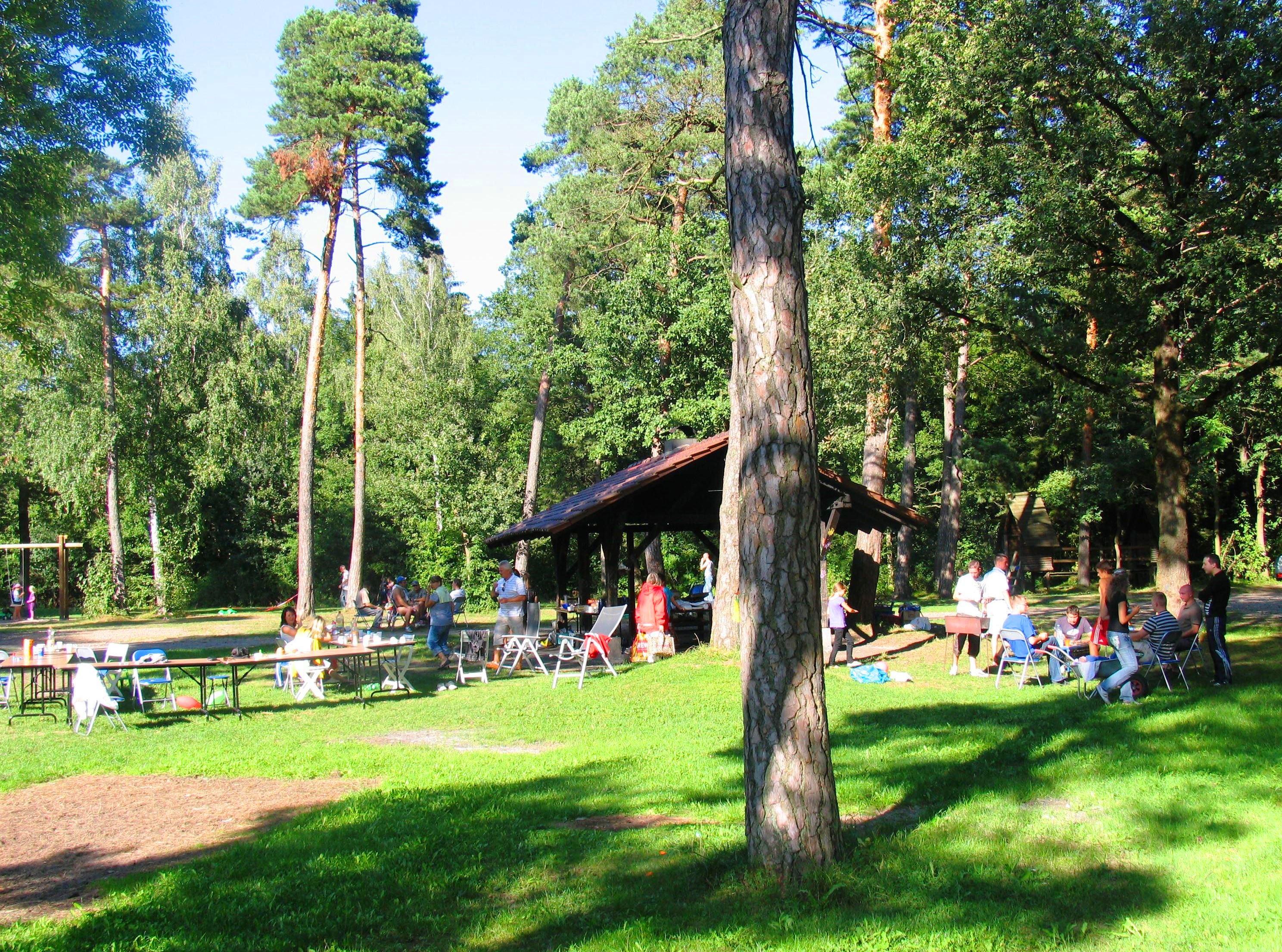 Spielplatz im Auwald