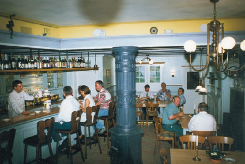 Gaststube im Hotel-Landrestaurant Schnittker
