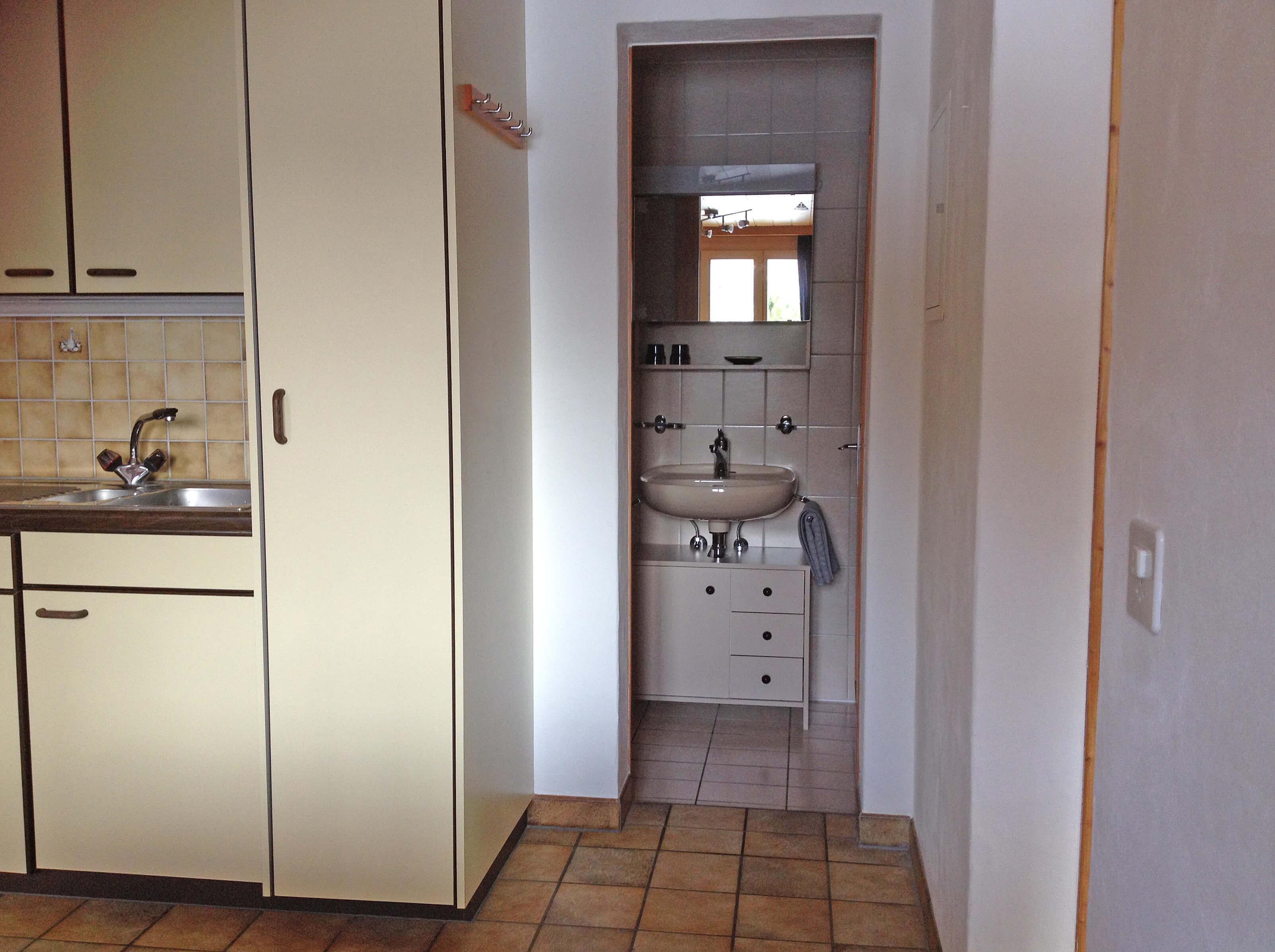 Küche Toilette