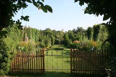 Ehemaliges Kloster Marienfeld: Garten am Kloster