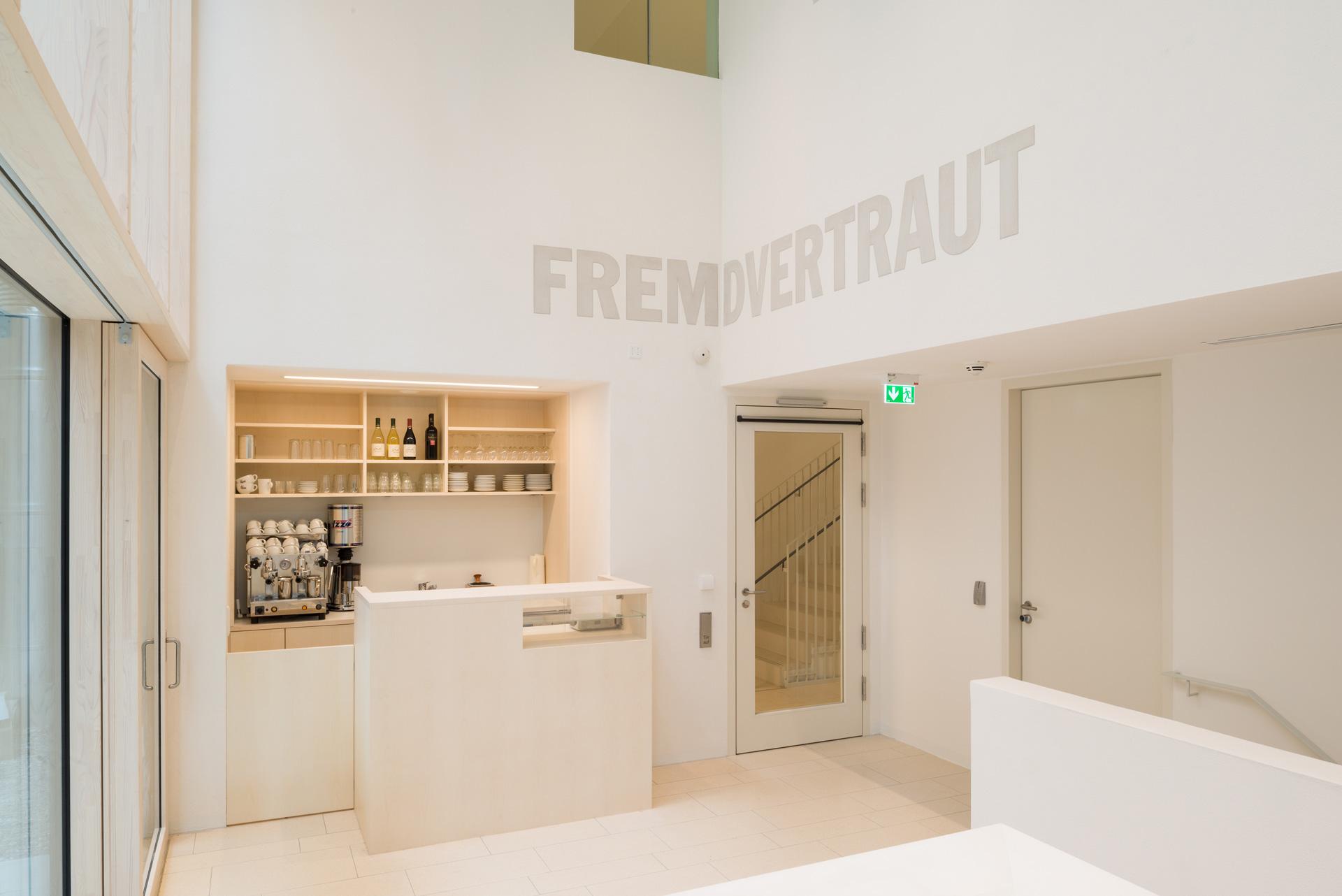 Café im Jüdischen Museum Franken