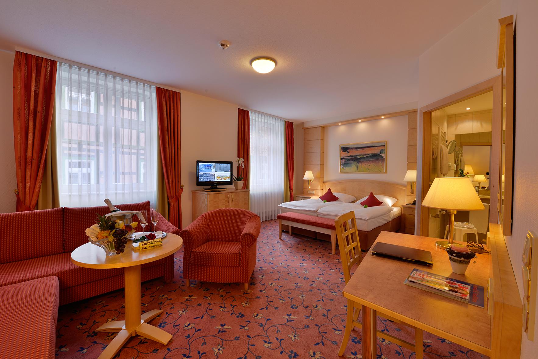 Hotel & Restaurant Weißer Hirsch in Wernigerode - Komfortzimmer