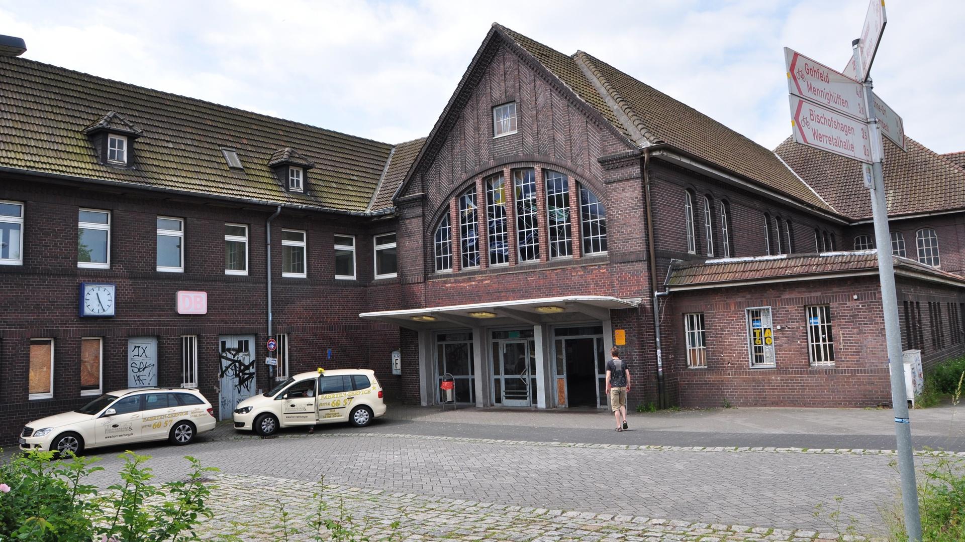 Der Bahnhof Löhne