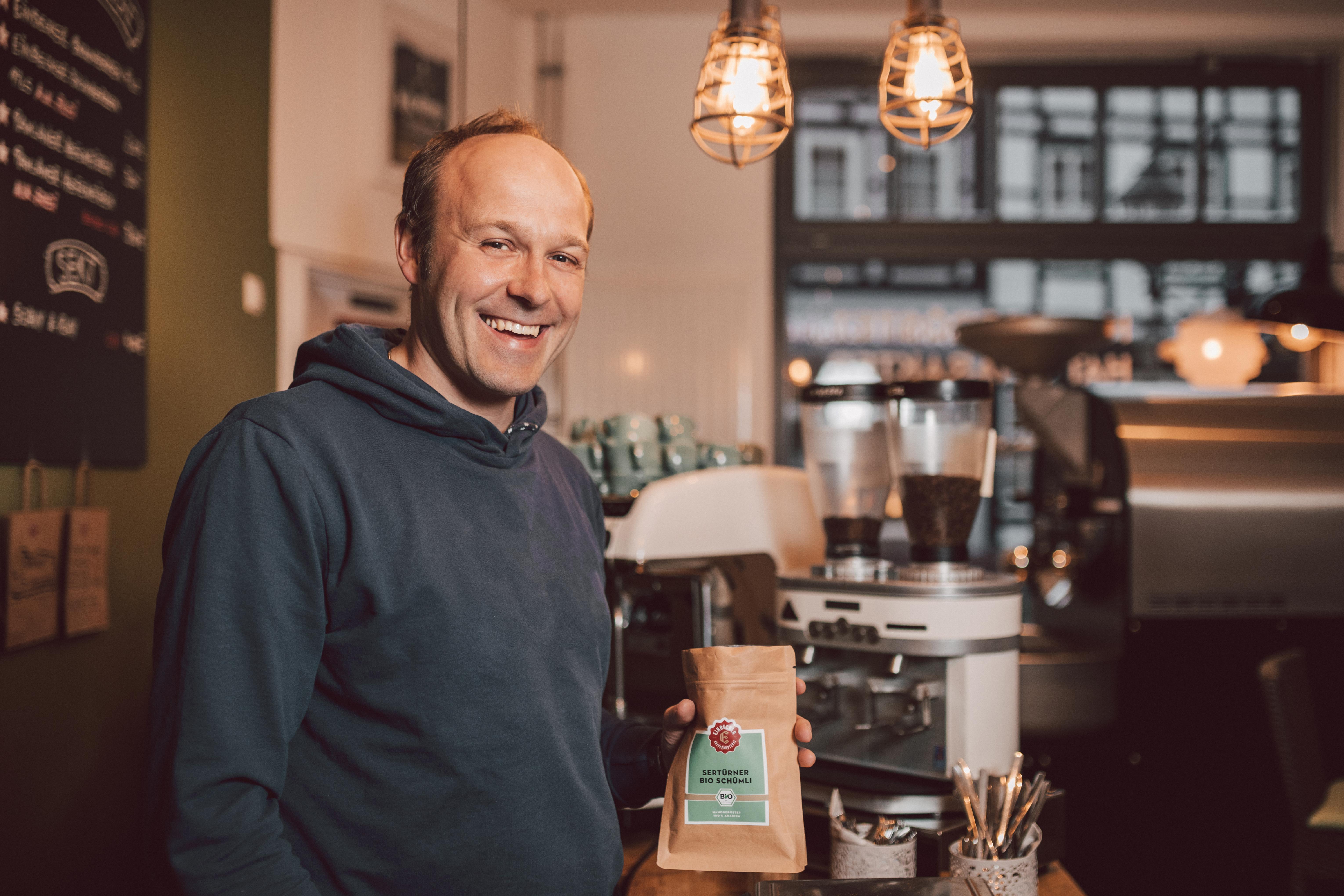 Einbecker Kaffeerösterei_Inhaber Alexander Pohl