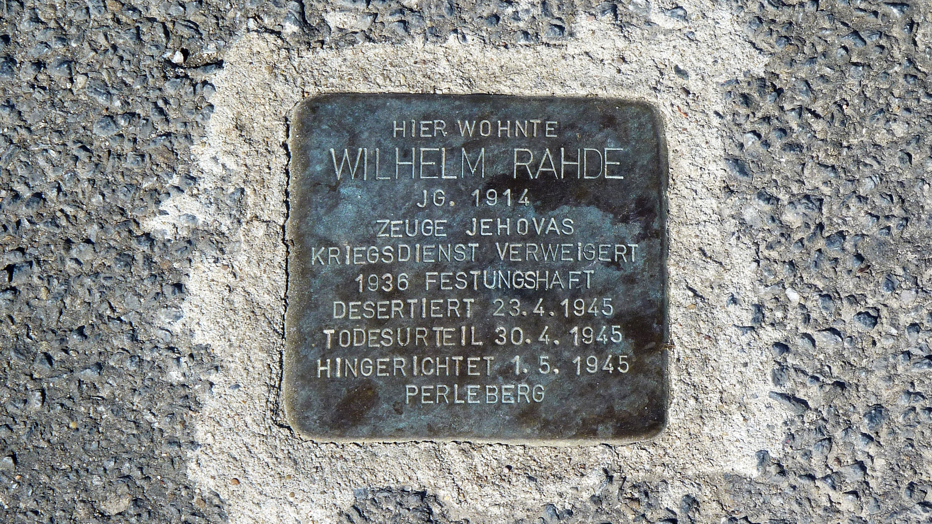 Das Wohnhaus Wilhelm Rahdes