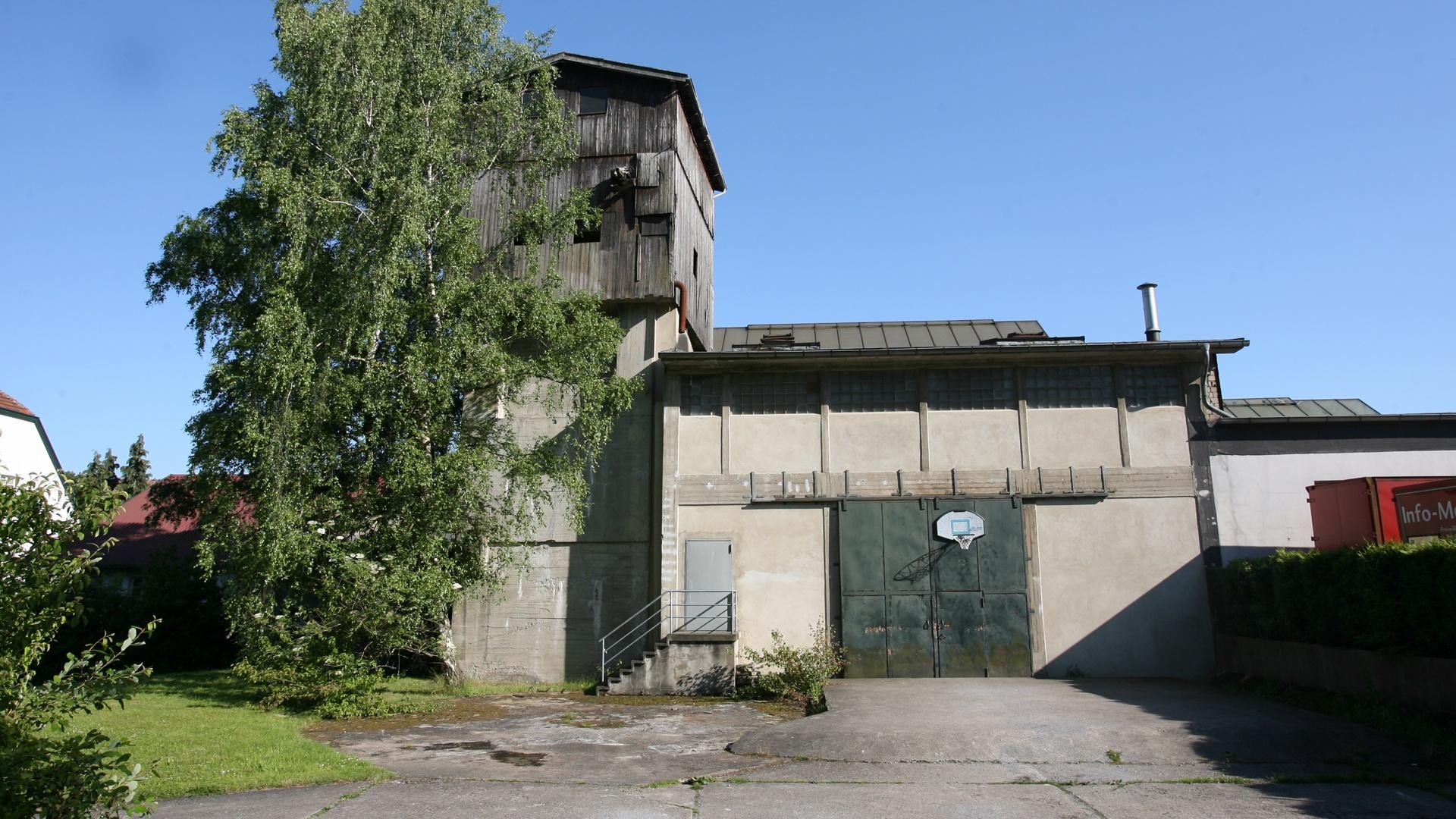 Die ehemalige Papierfabrik