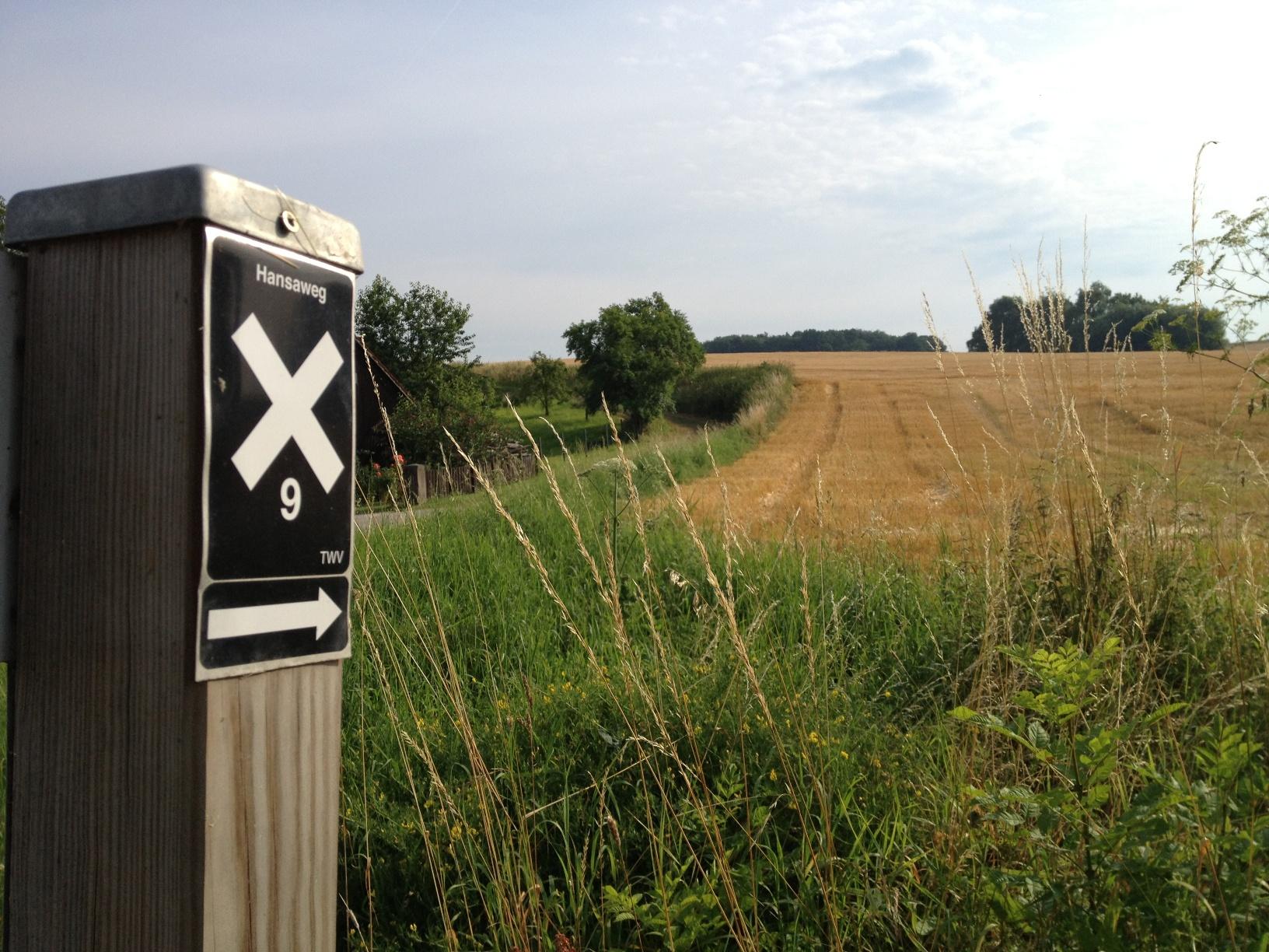 Markierungszeichen Hansaweg
