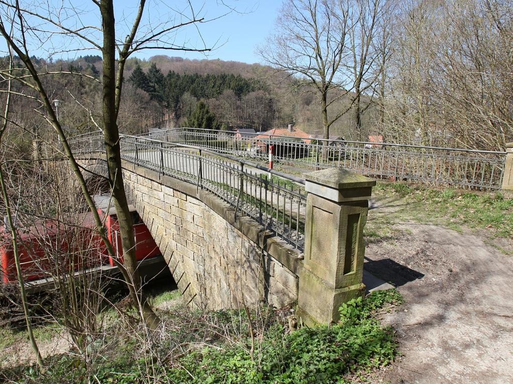 Eisenbahnbrücke `Neue Mühle`
