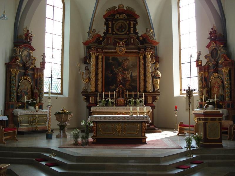 Altar der Kirche